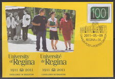 CANADA #S87 UNIVERSITY OF REGINA (1911-2011) SPECIAL EVENT COVER