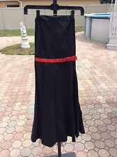 Ruby Rod Dress. Black With Red Dots. Size 6
