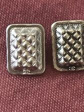 2 Boutons Chanel Rectangulaire
