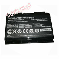Genuine OEM Battery For Sager Clevo 6-87-X510S-4D74 6-87-X510S-4D73 P150HMBAT-8