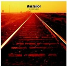 STARSAILOR: LOVE IS HERE. BRILLIANT FOR PARTIES &/OR A PRESENT. MINT. BRILLIANT.