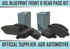 BLUEPRINT FRONT AND REAR PADS FOR RENAULT MODUS 1.5 D 105 BHP 2004-
