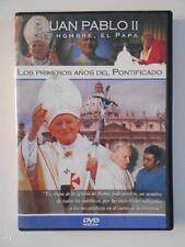 DVD JUAN PABLO II EL HOMBRE, EL PAPA 2 - LOS PRIMEROS AÑOS DEL PONTIFICADO (4I)