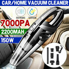 Cordless Car Vacuum Cleaner Handheld Quick Charge Wet&Dry strong Suction Duster photo