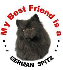 2 German Spitz Car Stickers By Starprint
