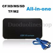 All-in-1 USB 3.0 Compact Flash Multi Memory Card Reader CF Adapter Micro SD XD