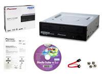 Pioneer BDR-212UBK Internal 16x Blu-ray Writer + Cyberlink S/W, SATA Cable