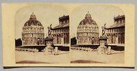 Pisa Italia Stereo Vintage Albumina Ca 1860