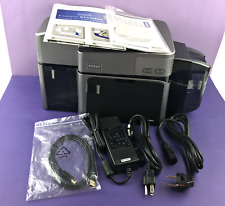 Fargo DTC1250E 050120 Dual-Sided FD RTH NA Card Printer with Ether Port #1007