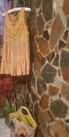 """""""In the Beginning"""" Women Yellow Boho  Blouse SZ S ...Pre Owned"""