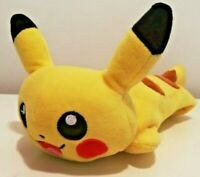"Pikachu Pencil Case 11"" Plush Tamkara Tomy! Good Condition!"