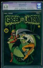 Green Lantern 1 CGC 6.0 (R) OW/W Golden Age Key DC Comic 1st Issue! L@@K