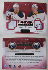 2015-16 UD Artifacts TT-GR Reinhart Girgensons 2/9 tundra tandems red
