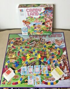 Candy Land Board Game 2004 by MB Games  #00104 (See Description)