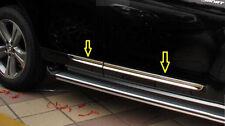 Chrome Body door Side Molding Trims For Toyota Highlander 2008 2009 2010