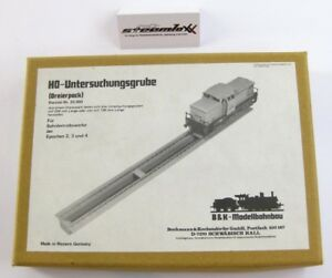 Bochmann B&K Bohemia H0 33.003 Bausatz Untersuchungsgrube mit OVP X00001-19892