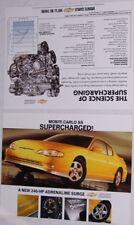 2 2004 04 Chevrolet Monte Carlo SS original brochure s