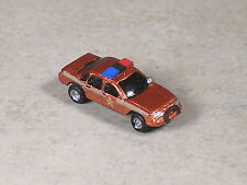N Scale 1997 Bronze Sheriff Car