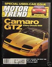 MOTOR TREND Magazine June 1985 Honda Accord