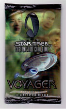 Star Trek CCG Sealed Packets of Voyager 1st Edition Series 11 Cards Per Pack