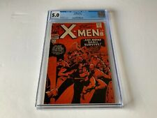 X MEN 17 CGC 5.0 RED COVER JACK KIRBY MAGNETO APPEARANCE MARVEL COMICS 1966