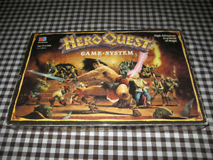 1989 HeroQuest Game System 100% COMPLETE! Vintage Hero Quest by Milton Bradley