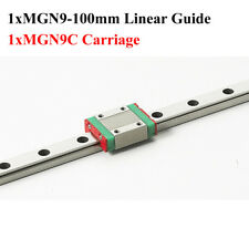 1Set 9mm for Linear Guide MGN9 100mm for linear rail way MGN9C CNC