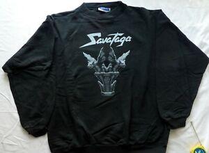 SAVATAGE Dead Winter Dead European Tour 1996 Sweat Shirt JON Oliva