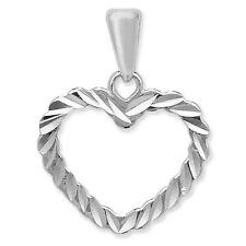 Unbranded Diamond Love Hearts Fashion Necklaces & Pendants