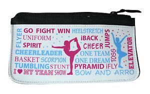 Kosmetiktasche Cheer Sport Tasche Federmappe Cheerleading Cheerleader Faulenzer