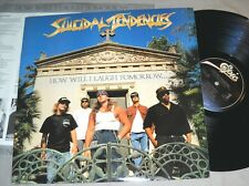SUICIDAL TENDENCIES How Will I Laugh Tomorrow..Smile Today VINYL LP US record NM