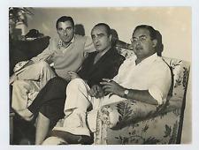 R. Amoroso, P. Amato e D. De Laurentiis Vintage silver print Tirage argentique