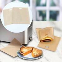 Tragbare Toastertaschen Gegrillte Käsesandwiches Wiederverwendbares Antiha Heiß