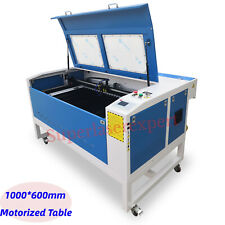 New listing Reci 130W 1000*600mm Co2 Laser Cutting Engraving Carving Machine With Motorized