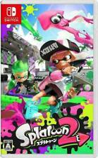 New NINTENDO SWITCH software Splatoon2(Action game)(Japan import)(Favorite game)