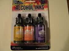 TIM HOLTZ Adirondack Alcohol Ink 3 Pk 'SUMMIT VIEW' BNIP **LOOK**
