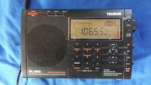 TECSUN PL-660 Portable AM/FM/LW/Air Shortwave World Band Radio with SSB and ant.