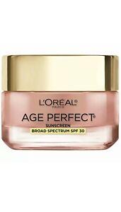 LOREAL AGE PERFECT ROSY TONE MOISTURIZER MATURE, DULL TONE SPF 30