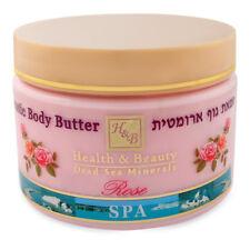 Aromatic Body Butter Rose H&b Dead Sea Minerals 350 Ml