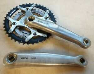 Shimano Deore LX FC-M569 Chainset Crankset Crank 42/32/22 rings 175mm arms