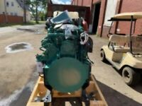 Volvo TAD871VE Diesel Engine, 250HP. ALL Complete and Run Tested.