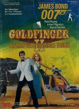 James Bond 007 Goldfinger Ii Sealed Boxed Set Victory Games Secret Service Box