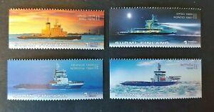 2005 BOAT SHIP SET VF MNH SUOMI FINLAND FINNLAND BKCL START $0.99