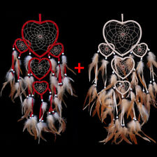 2PCS Dream Catcher With Feathers Wall Hanging Decoration Decor Bead Ornament NEW