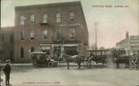 Auburn IN Swineford House c1910 Postcard