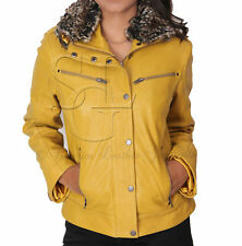 Women's Leather Plus Size Coats & Jackets