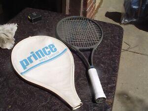 Prince Impact Oversize Tennis Racquet 4 1/2 Grip w Pro Ovterwrap