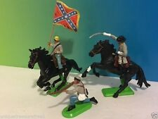 1971 DEETAIL BRITAINS COWBOYS INDIANS ENGLAND REBEL SOLDIERS CAVALRY GRAY SOUTH