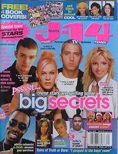 JUSTIN TIMBERLAKE  BRITNEY SPEARS  PINK  EMINEM September 2002 J-14 Magazine