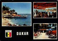 SENEGAL Postkarte Afrika Postcard DAKAR ~1970 Mehrbild-AK Souvenir LE LAGON View